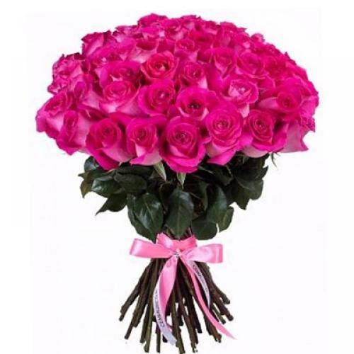 Розовая роза Topaz